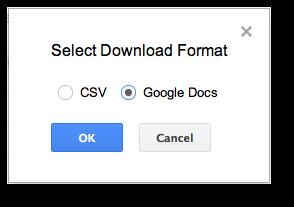 spreadsheet googledocs