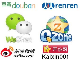 china social networks