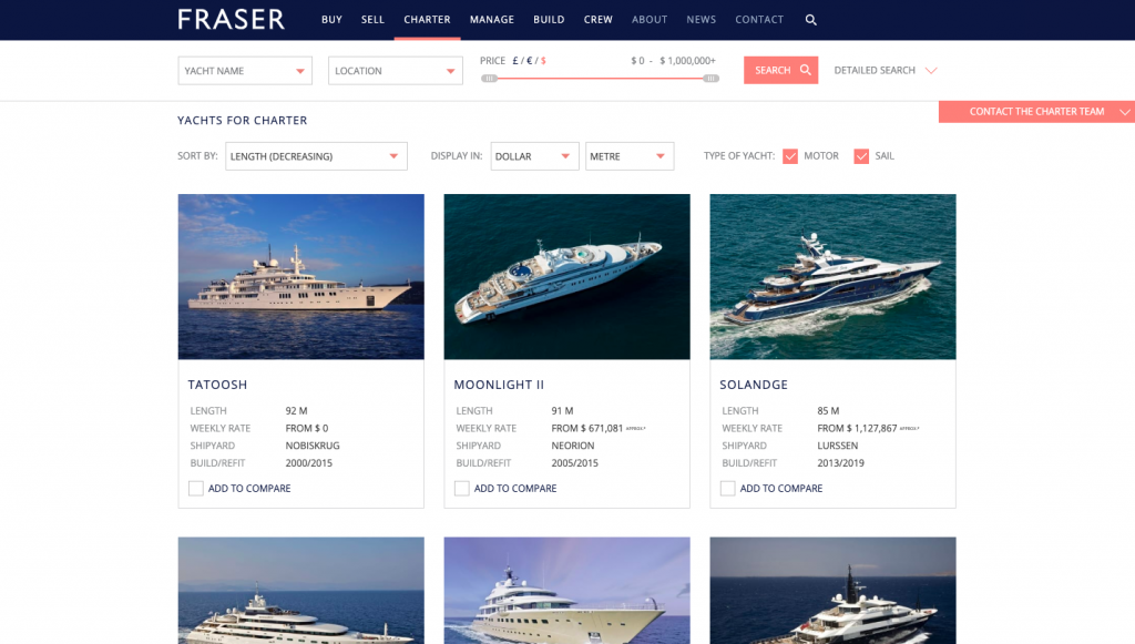 Frasers is one of the best luxury websites around