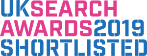 shortlisted for uk search awards 2019